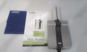 LINKSYS WRE54G Wireless-G Range Extender
