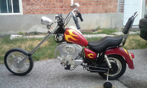 Battery Operated Chopper Motorcycle