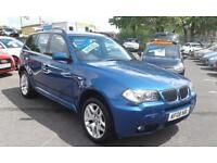 2008/08 BMW X3 2.0d M SPORT SAT NAV 1 FORMER KEEPER 2 KEYS LONG MOT