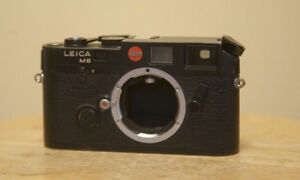 Leica M6 0.72 35mm Rangefinder Film Camera