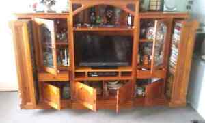 3 Piece Wall /Entertanment Unit Prestons Liverpool Area Preview