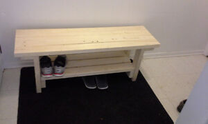 Handmade Wood Benches