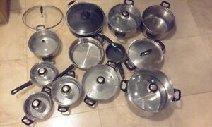 cookware: pans and fry pans