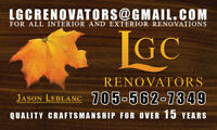 Free Estimates on All Interior and Exterior Renovations