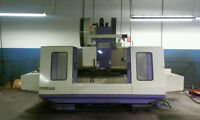 1998 TAKUMI LARGE CNC VERTICAL MACHINING CENTER, 57 x 27 x 27