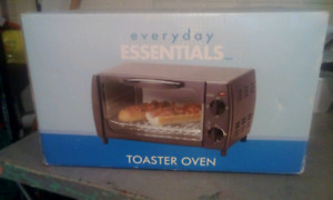 New everyday toaster oven never open