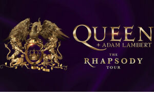 4 Queen + Adam Lambert hard tickets