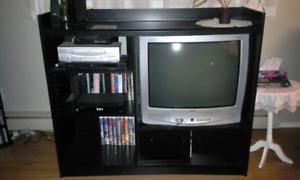 Meuble et télévision