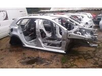 MK5 VW POLO 6R BARE SHELL IN SILVER SPARES OR REPAIR