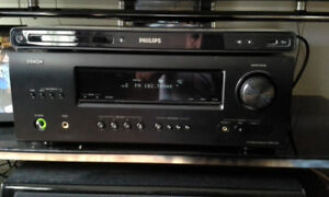 HOME THEATER SYSTEM DENON, SPEAKERS, CENT, SUROUND