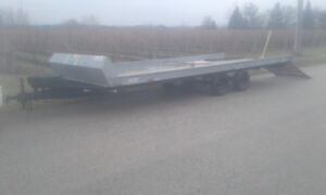 20ft 4-place Snowmobile Trailer road, ramp, ready $2600 obo