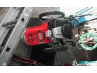 Wheeled strimmer mower Dr make