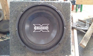 Subwoofer de Competition Hollywood Excusion 10 Pouces Tester