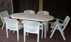 Set de patio table et chaises