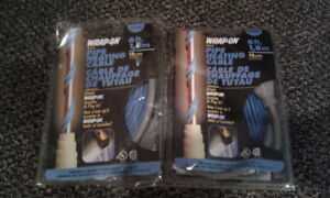 Two packages of pipe heat wrap - NEW