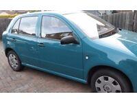 Skoda Fabia, 60 mpg, 1 year MOT, very economical, drive perfect conditions,NO Fiesta,VW or Corsa