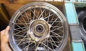 "front spoked motorcycle 16"" rim used Yamaha roadstar 1600 1700"