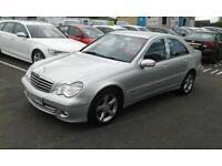 2005/55 Mercedes-Benz C220 2.1TD auto CDI Avantgarde SE