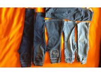 bundles of girls and boys trousers