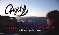 Angela ~ PSYCHIC• INTUITIVE •MEDIUM