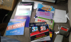 NES Game manuals