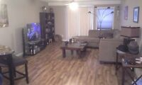 Cold Lake fully furnished condo for rent