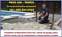 Pave Uni: Reparations et Installation a Laval et Rive Nord