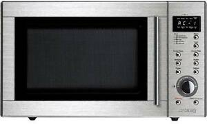 Smeg 29L Stainless Steel Microwave SA384X factory seconds Baulkham Hills The Hills District Preview