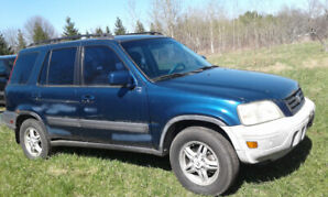 1999 Honda CRV  one Blue 211k and one Black 215k