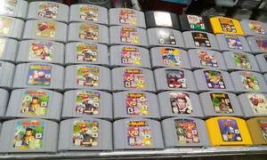 Nous vendons, Nes,Super,N64,Ps1-2-3-4,Wii,Ds,Gc,Xbox,