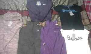 Lot of brand new bench clothing