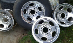 DODGE VAN OR TRUCK 15 INCH RIMS FROM FLORIDA