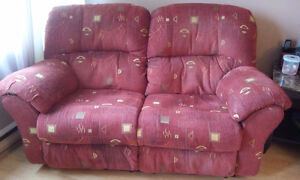 Causeuse et Fauteuil inclinable