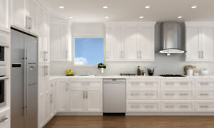Warehouse Sell Solid Wood Kitchen Cabinets&Bath Vanities