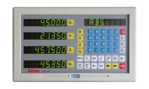 DITRON DIGITAL READOUTS FOR MILLS, LATHES, EDM ETC