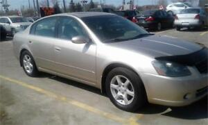 """2005 Nissan Altima 2.5 S  """" one year pwr train included!!!"""""""