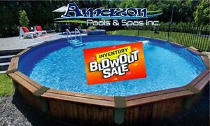 ***AMAZON POOLS & SPAS - WAREHOUSE CLEARANCE SALE**