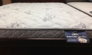 Serta Brand New mattress and box $ 398 only FREE DELIVERY+SETUP