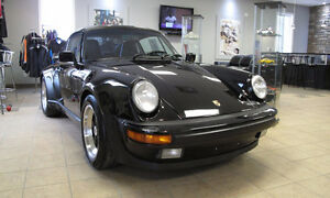 Porsche 930 Turbo,black, low mileage