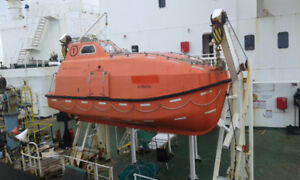 Fresh Enclosed 32 Person Lifeboat for Sale