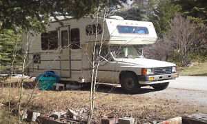1986 Canmore Toyota OdysseyMoHo Buy or Rent