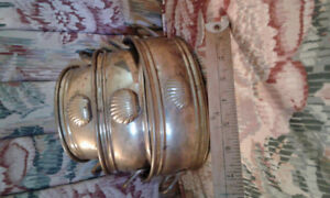 Set of 3 India Brass planters