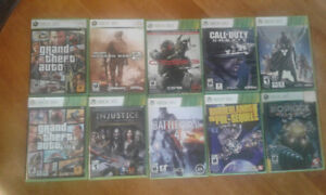 Various Xbox 360 and 3DS games for sale (titles in desc.)