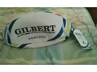 Gilbert Rugby World Cup England 2015 Official Replica Ball