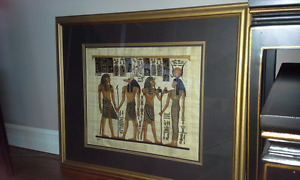 Framed Egyptian Print