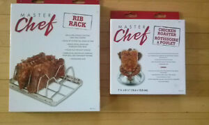 Master Chef Rib Rack/Chicken Roaster