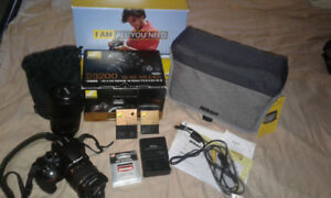 nikon d3200 with accessories