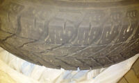 Four GOODYEAR winter tires