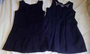 2 brand new school dresses, $15 for pair or $8 each