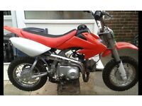 Childs 70 cc motorbike ****Back up for sale due to time wasters £180 onvo****